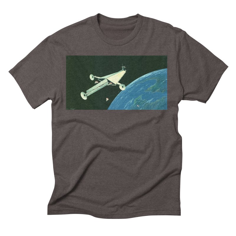 Concept 6 Men's Triblend T-Shirt by Colin Cantwell