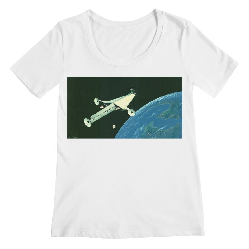 Concept 6 Women's Regular Scoop Neck by Colin Cantwell