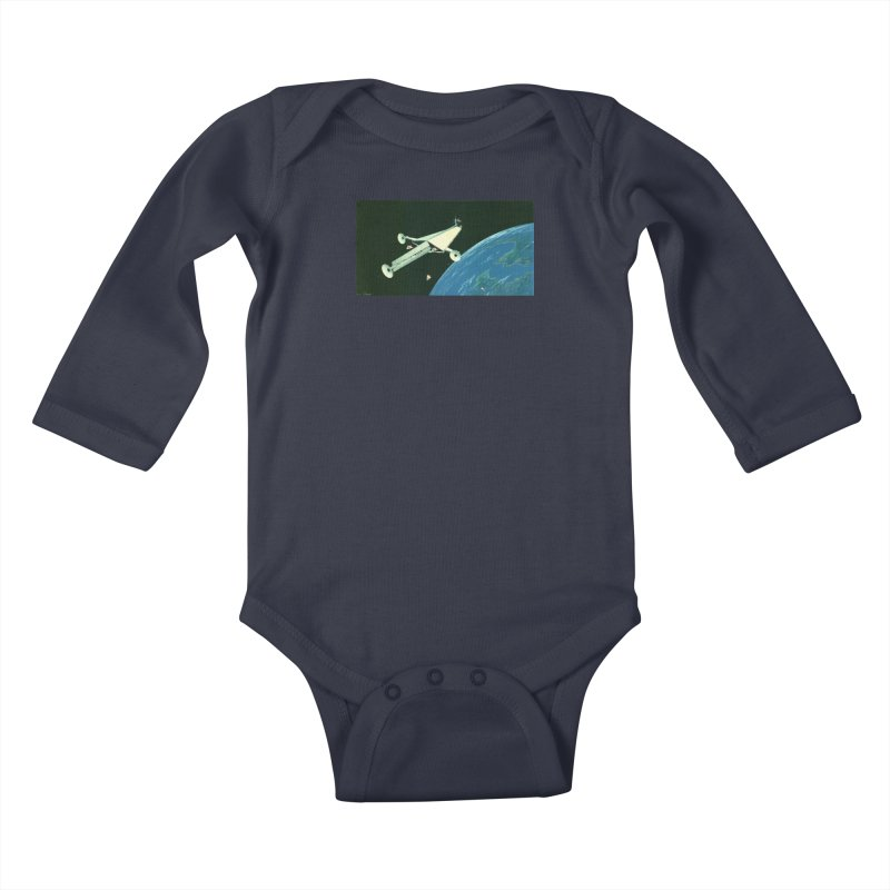 Concept 6 Kids Baby Longsleeve Bodysuit by Colin Cantwell