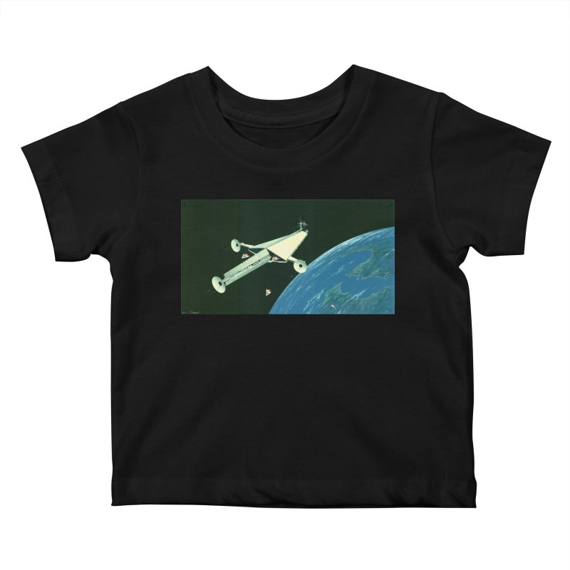 Concept 6 Kids Baby T-Shirt by Colin Cantwell