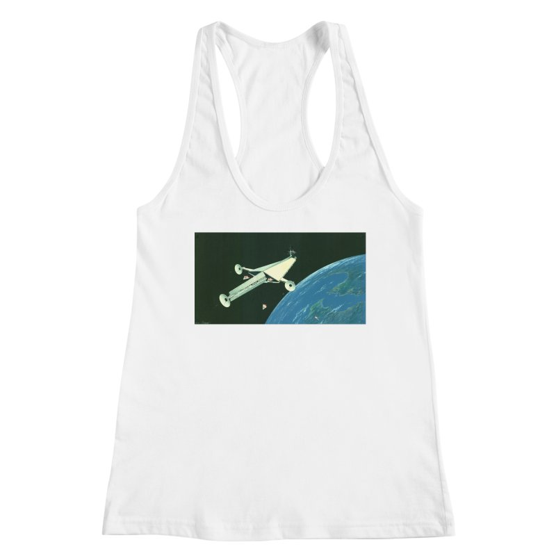 Concept 6 Women's Racerback Tank by Colin Cantwell