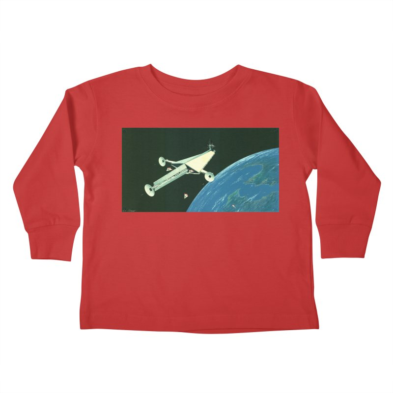 Concept 6 Kids Toddler Longsleeve T-Shirt by Colin Cantwell