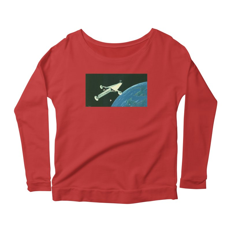 Concept 6 Women's Scoop Neck Longsleeve T-Shirt by Colin Cantwell