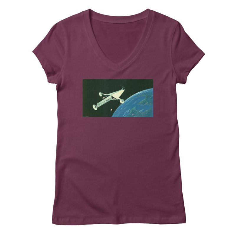 Concept 6 Women's Regular V-Neck by Colin Cantwell