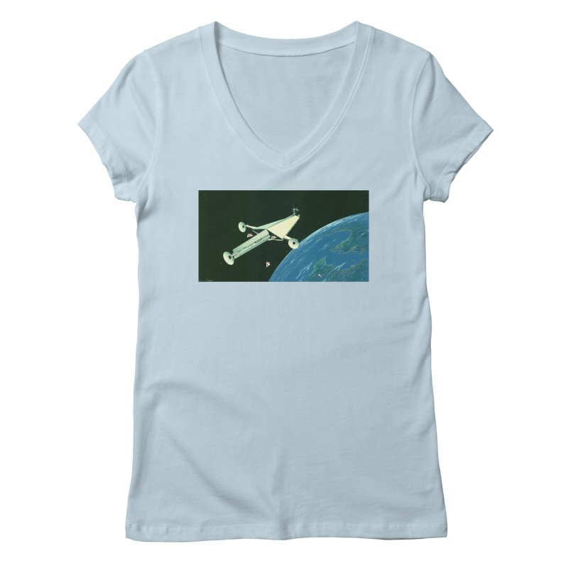 Concept 6 Women's V-Neck by Colin Cantwell