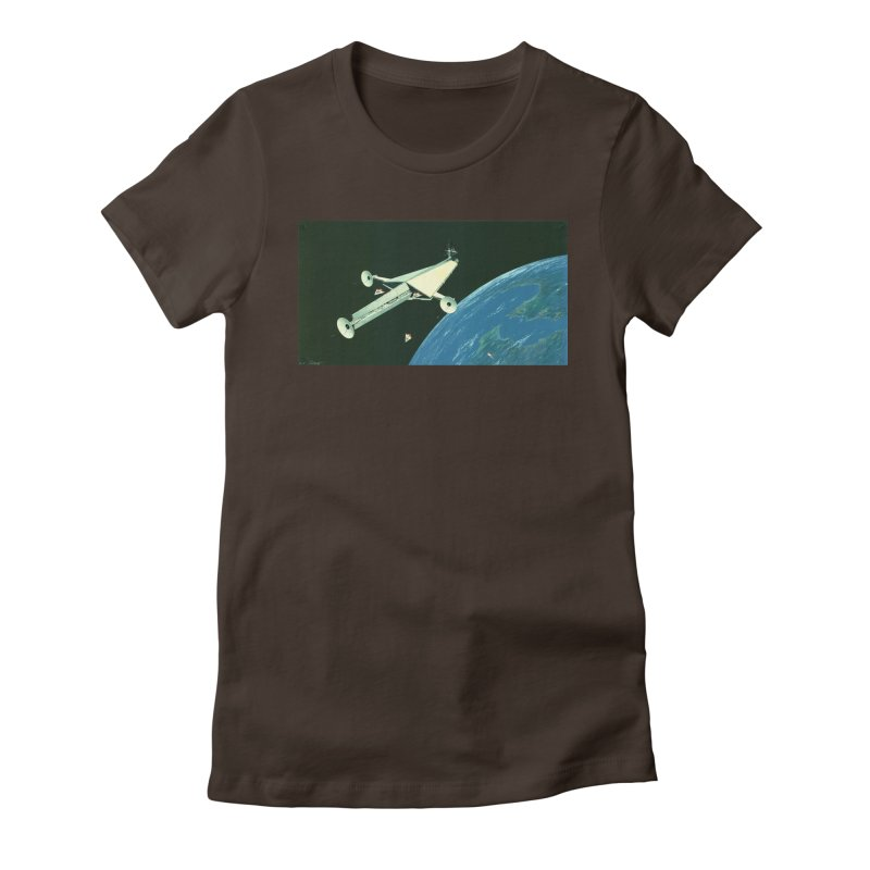 Concept 6 Women's Fitted T-Shirt by Colin Cantwell