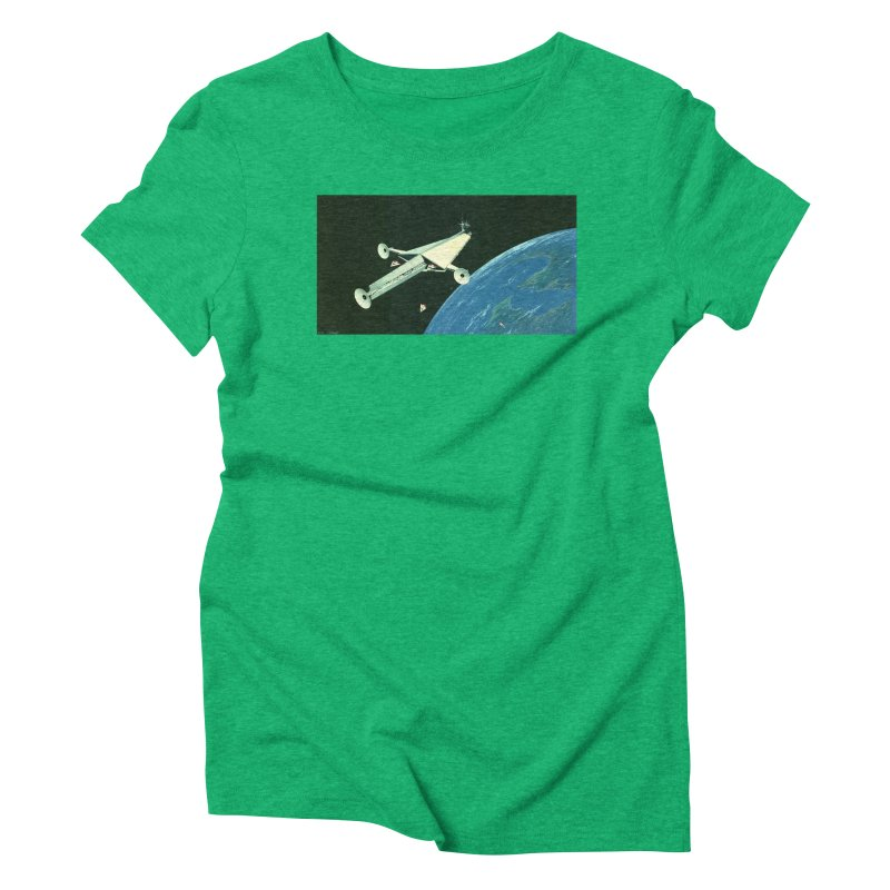 Concept 6 Women's Triblend T-shirt by Colin Cantwell