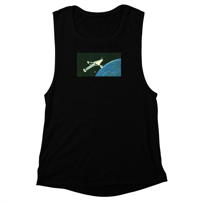 Concept 6 Women's Muscle Tank by Colin Cantwell