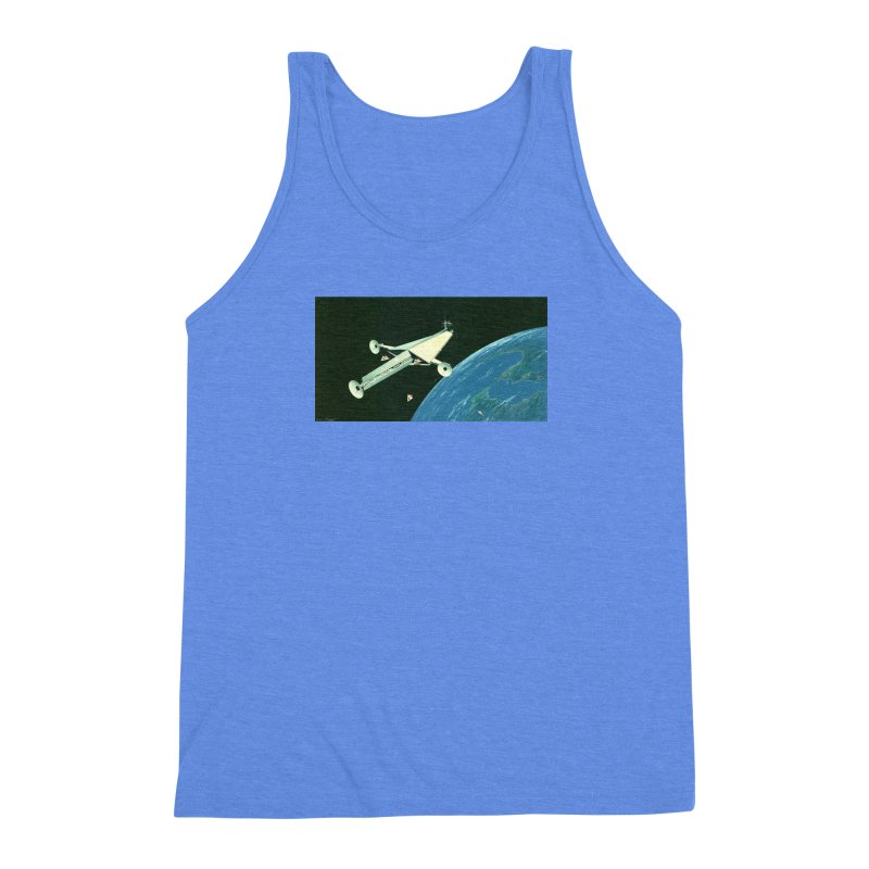 Concept 6 Men's Triblend Tank by Colin Cantwell