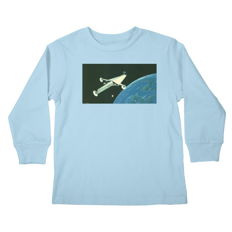 Concept 6 Kids Longsleeve T-Shirt by Colin Cantwell