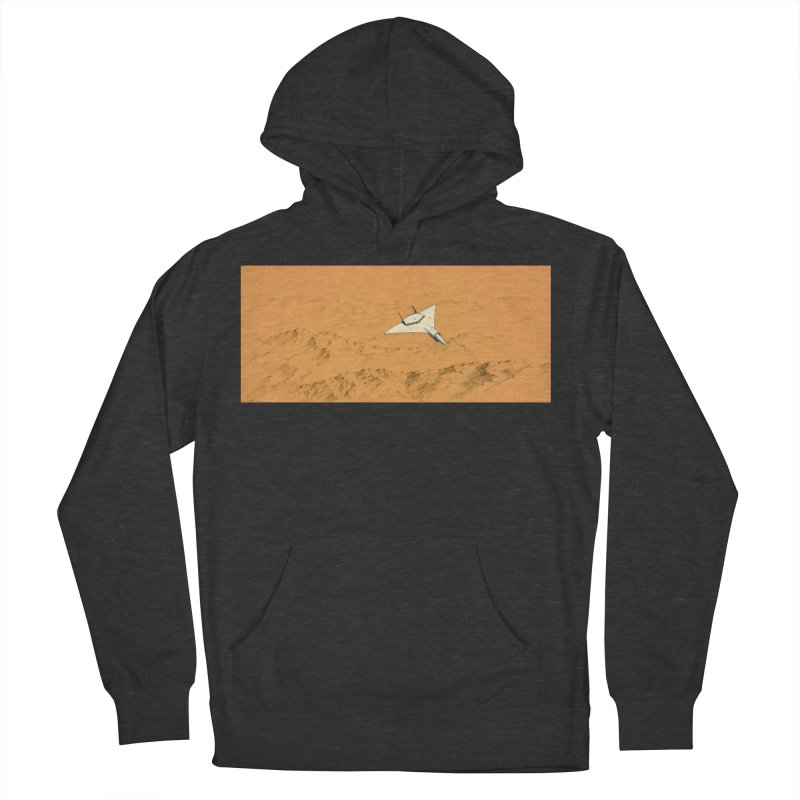 Concept 7 Women's French Terry Pullover Hoody by Colin Cantwell
