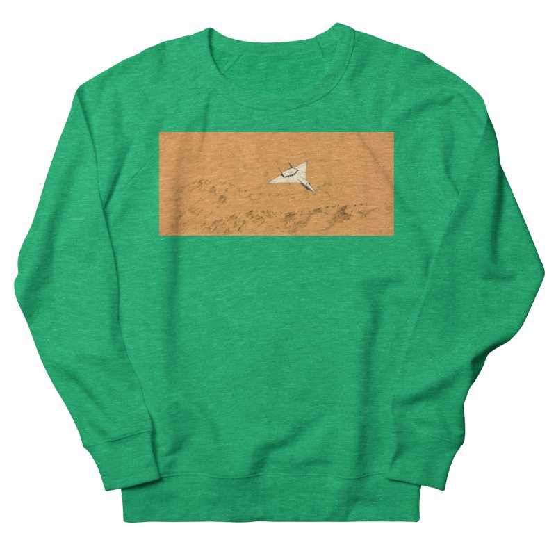 Concept 7 Women's French Terry Sweatshirt by Colin Cantwell