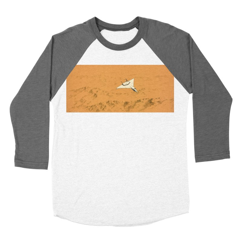 Concept 7 Women's Baseball Triblend T-Shirt by Colin Cantwell