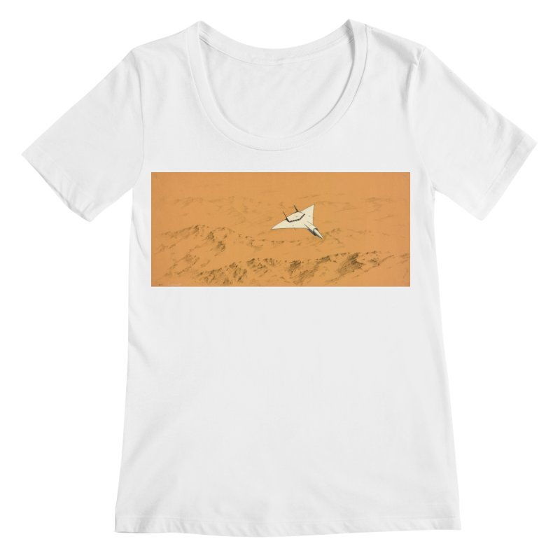Concept 7 Women's Regular Scoop Neck by Colin Cantwell