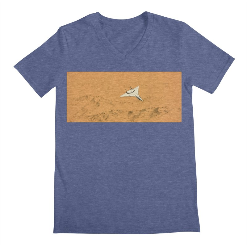 Concept 7 Men's V-Neck by Colin Cantwell