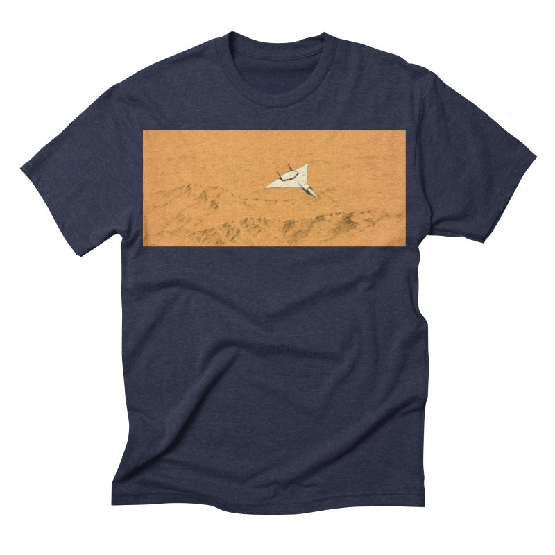 Concept 7 Men's Triblend T-shirt by Colin Cantwell