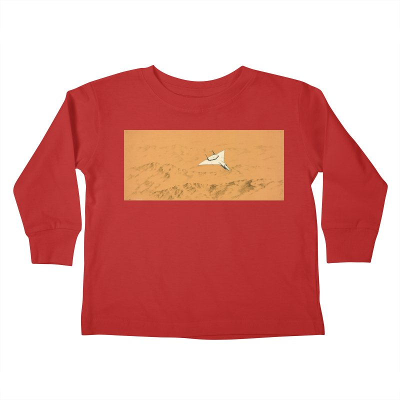 Concept 7 Kids Toddler Longsleeve T-Shirt by Colin Cantwell