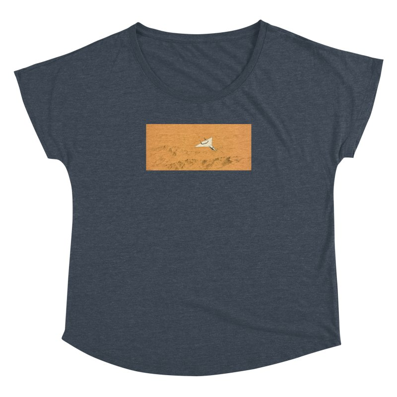 Concept 7 Women's Dolman Scoop Neck by Colin Cantwell