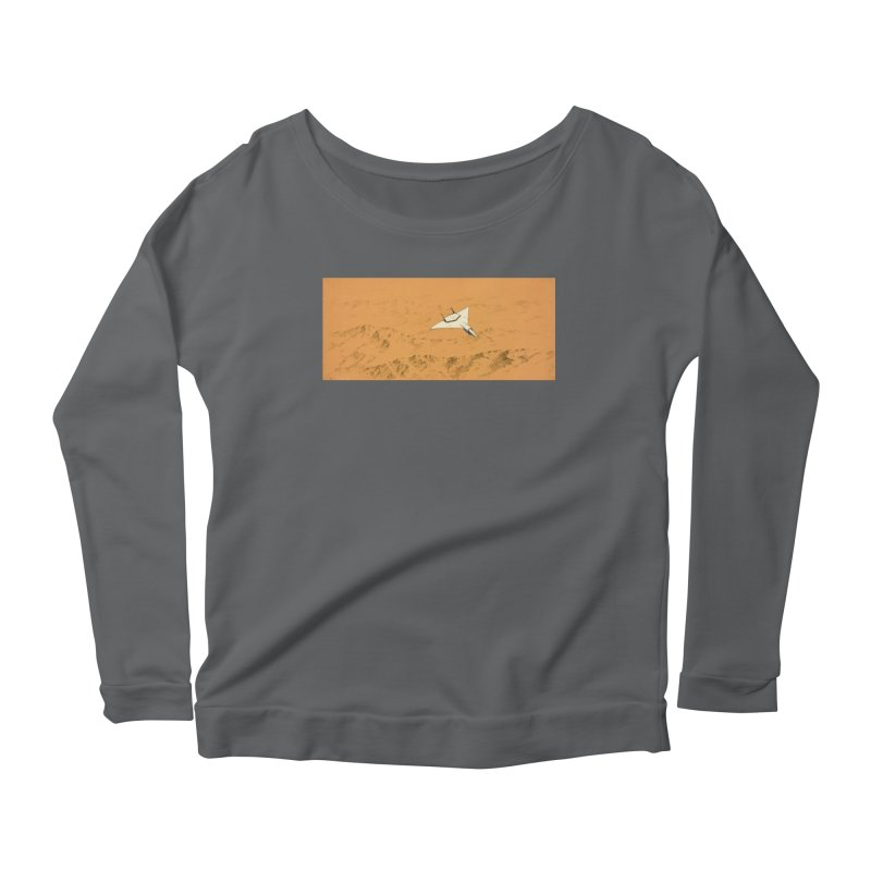 Concept 7 Women's Scoop Neck Longsleeve T-Shirt by Colin Cantwell