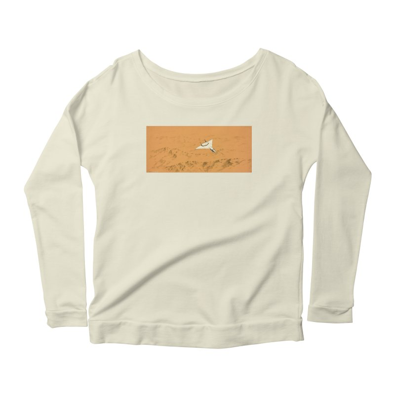 Concept 7 Women's Longsleeve Scoopneck  by Colin Cantwell