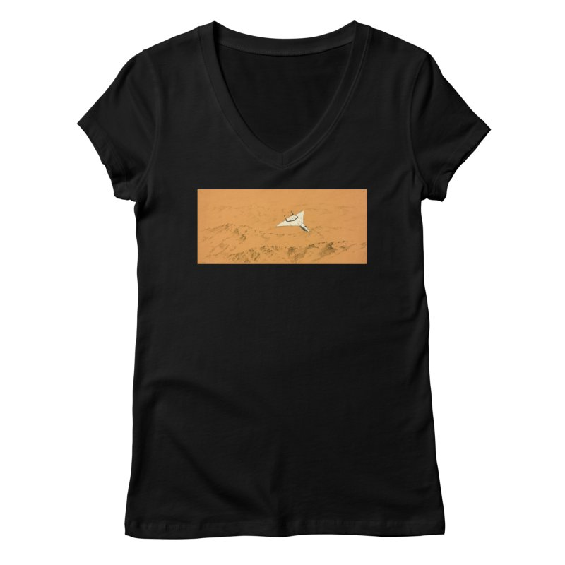 Concept 7 Women's V-Neck by Colin Cantwell