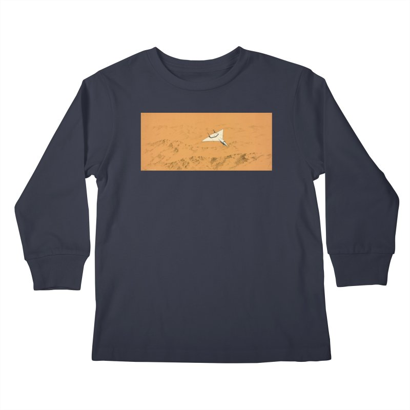 Concept 7 Kids Longsleeve T-Shirt by Colin Cantwell