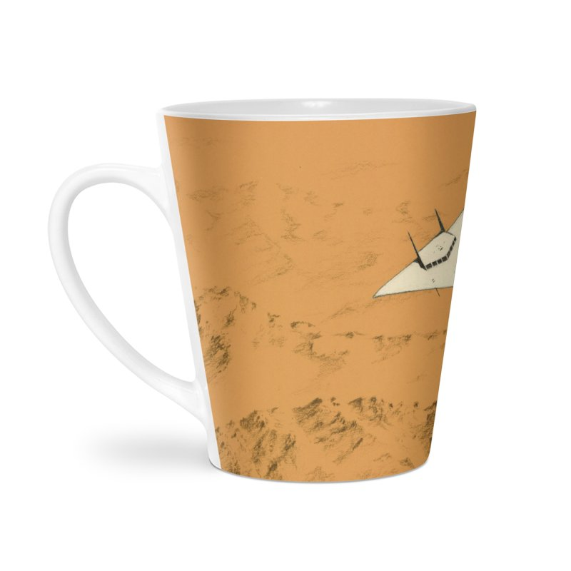 Concept 7 Accessories Latte Mug by Colin Cantwell