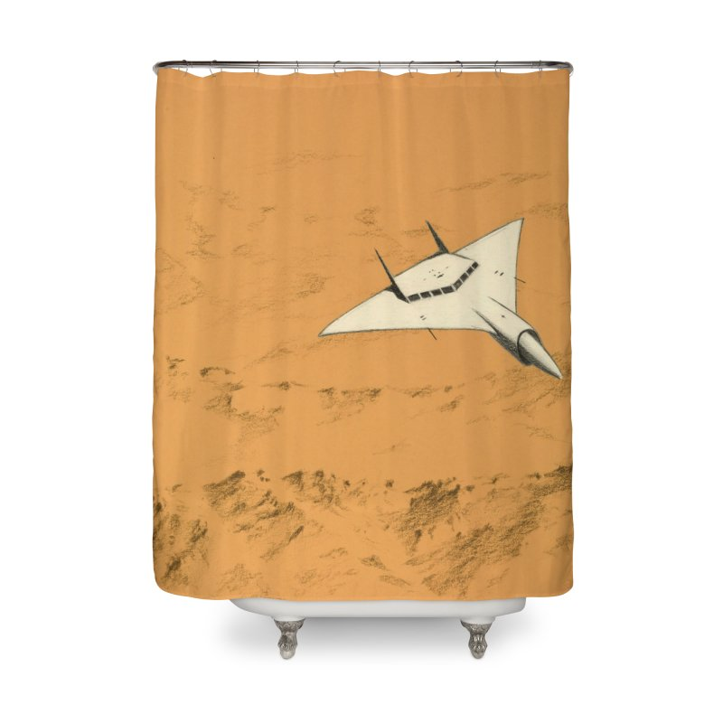 Concept 7 Home Shower Curtain by Colin Cantwell