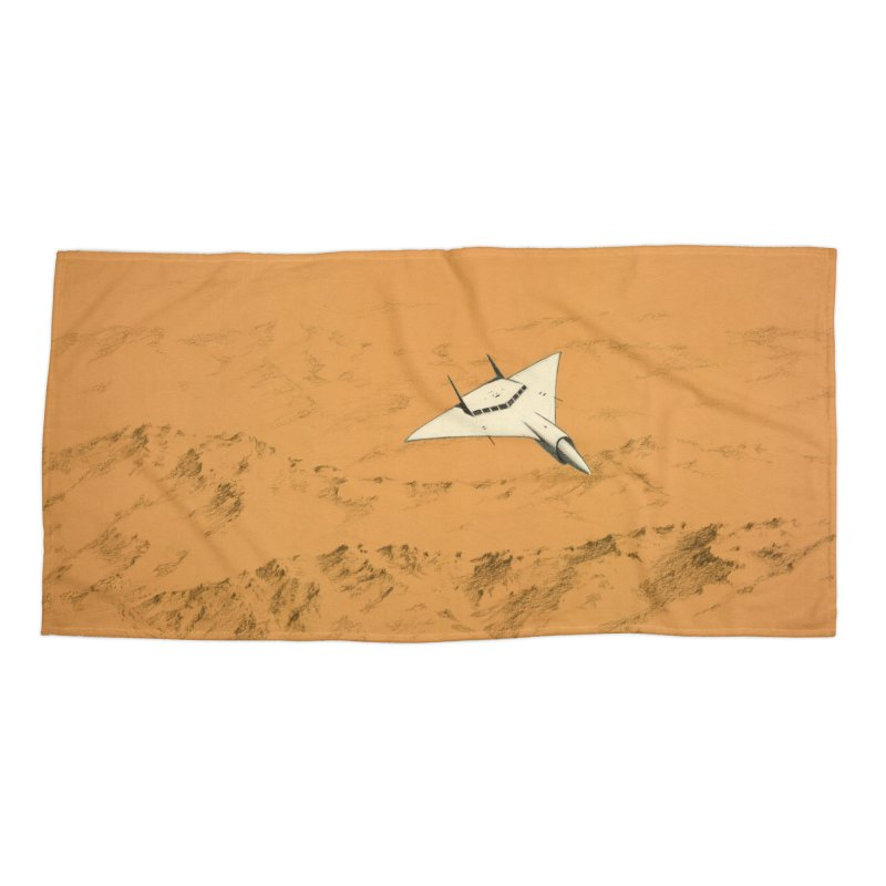 Concept 7 Accessories Beach Towel by Colin Cantwell