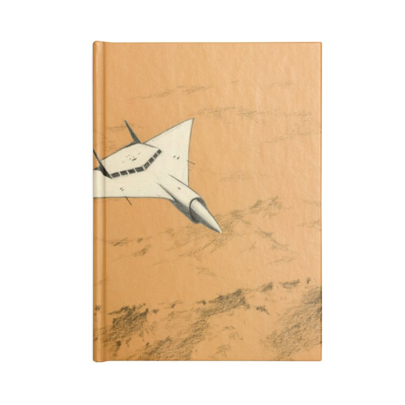 Concept 7 Accessories Lined Journal Notebook by Colin Cantwell