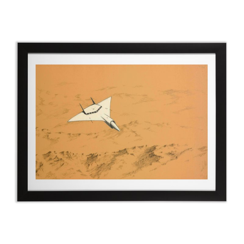 Concept 7 Home Framed Fine Art Print by Colin Cantwell