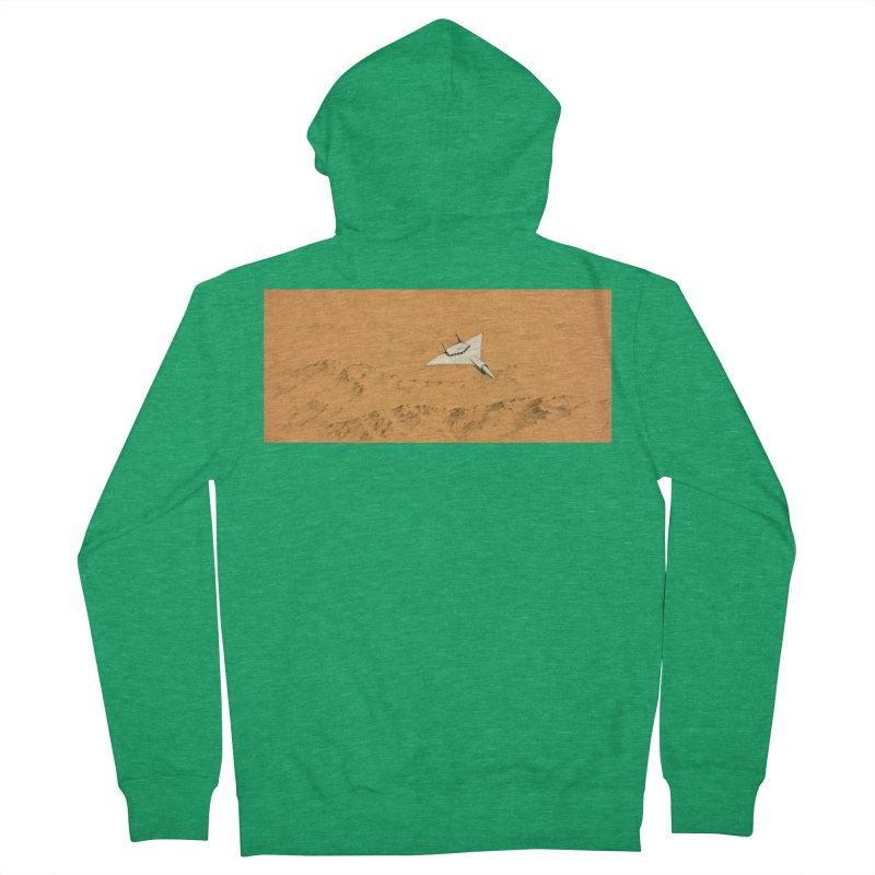 Concept Ship 7 Women's Zip-Up Hoody by Colin Cantwell ll