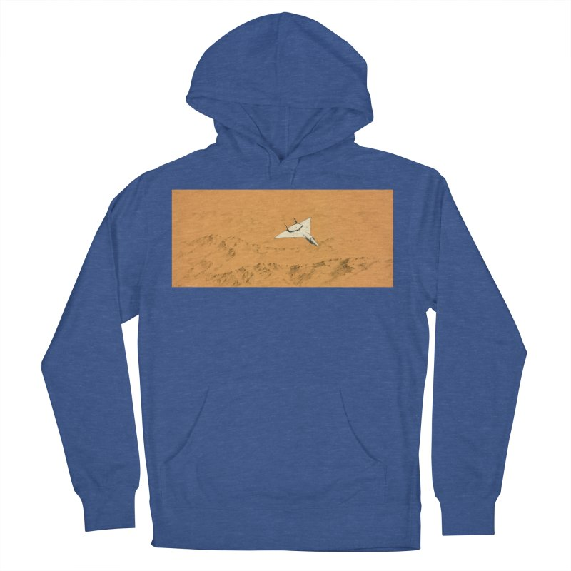 Concept Ship 7 Women's French Terry Pullover Hoody by Colin Cantwell ll