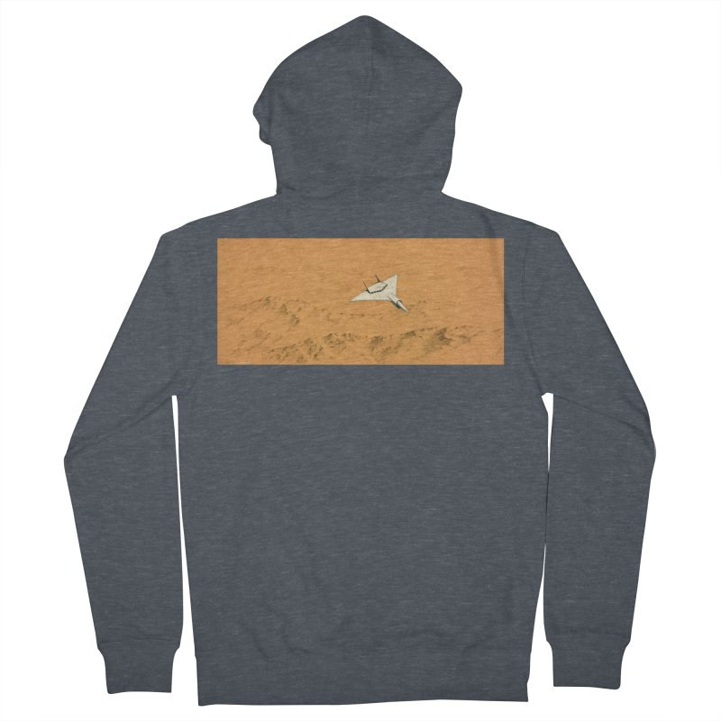 Concept Ship 7 Women's French Terry Zip-Up Hoody by Colin Cantwell ll