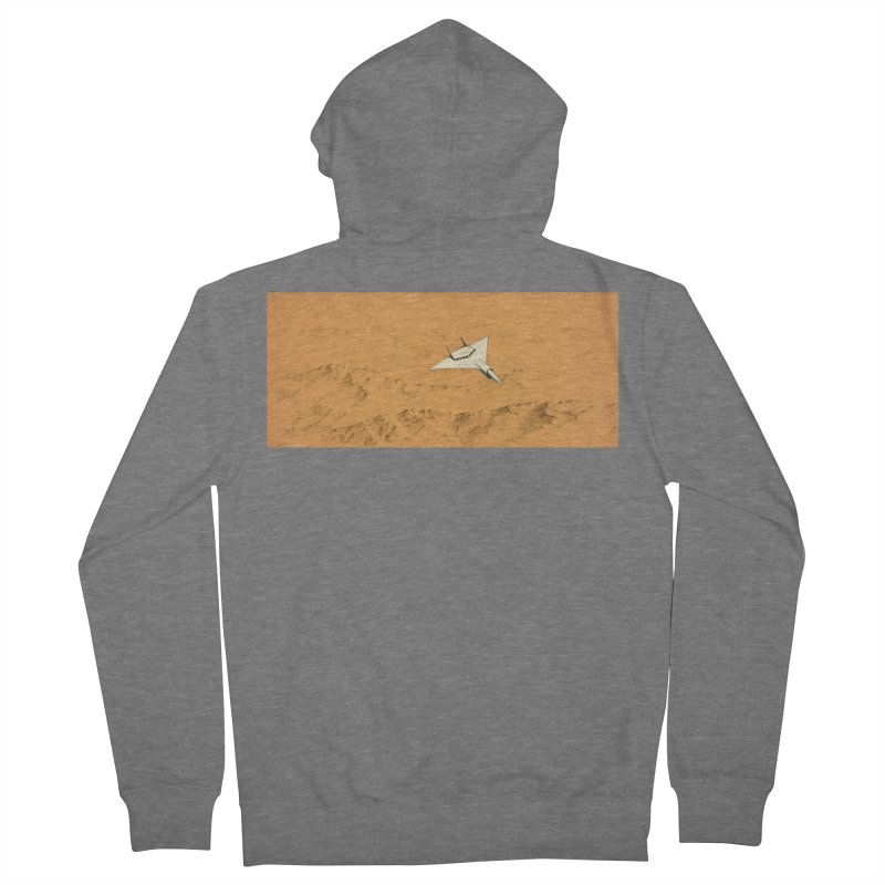 Concept Ship 7 Men's Zip-Up Hoody by Colin Cantwell ll