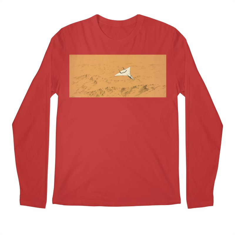 Concept Ship 7 Men's Regular Longsleeve T-Shirt by Colin Cantwell ll