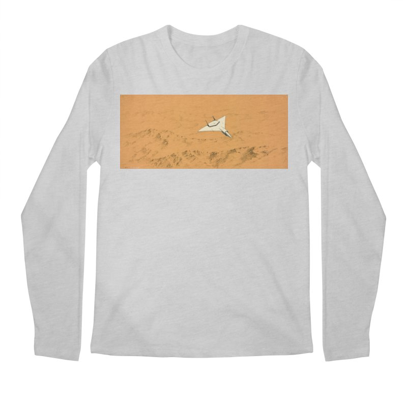 Concept Ship 7 Men's Longsleeve T-Shirt by Colin Cantwell ll