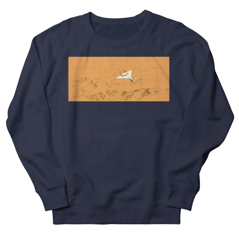 Concept Ship 7 Women's French Terry Sweatshirt by Colin Cantwell ll