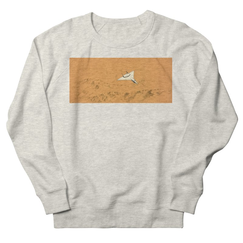 Concept Ship 7 Men's French Terry Sweatshirt by Colin Cantwell ll