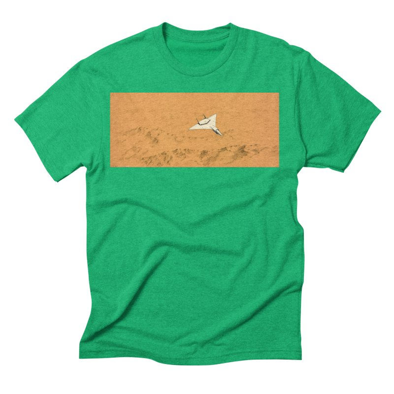 Concept Ship 7 Men's Triblend T-Shirt by Colin Cantwell ll