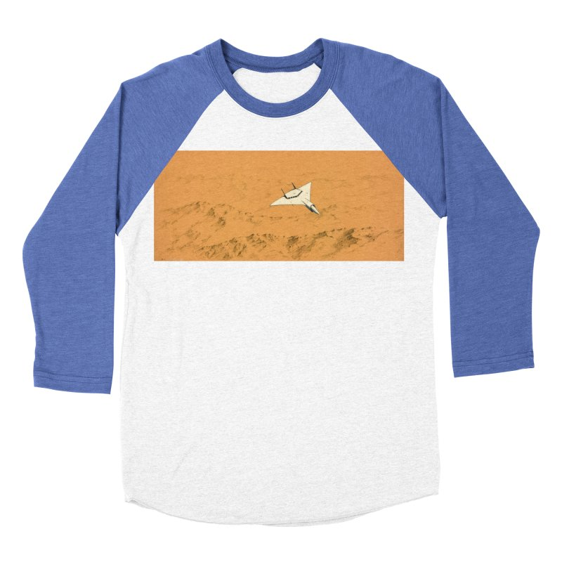 Concept Ship 7 Women's Baseball Triblend Longsleeve T-Shirt by Colin Cantwell ll