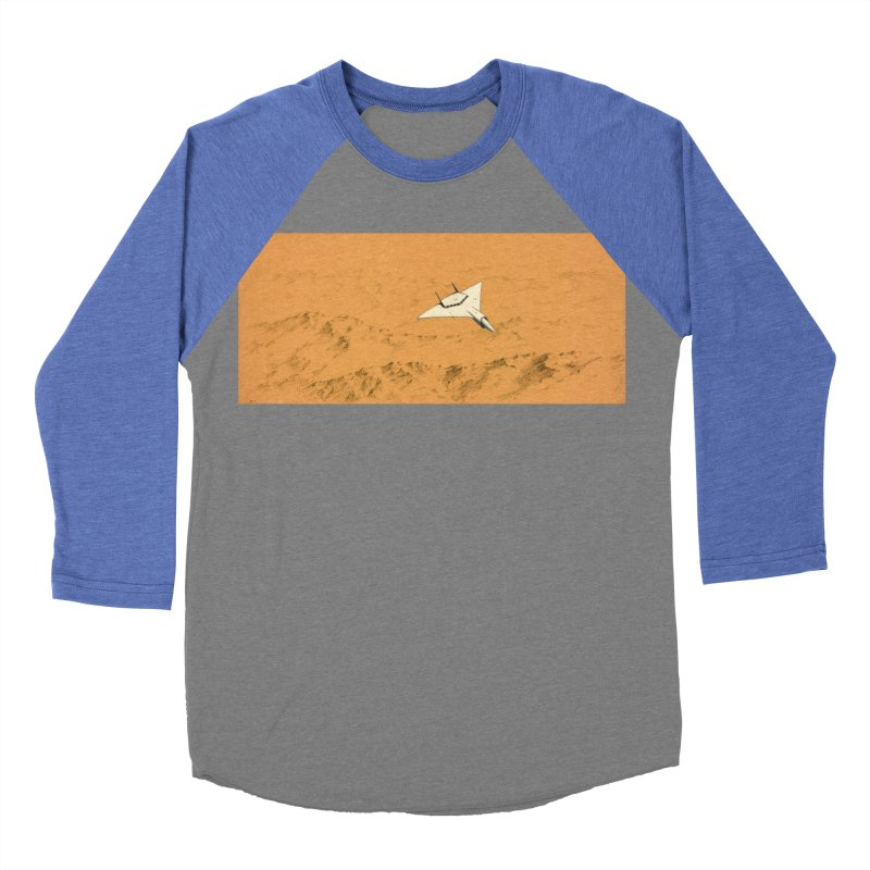 Concept Ship 7 Men's Baseball Triblend Longsleeve T-Shirt by Colin Cantwell ll