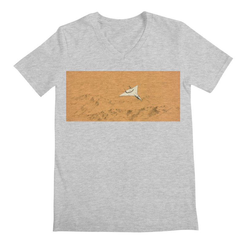 Concept Ship 7 Men's V-Neck by Colin Cantwell ll