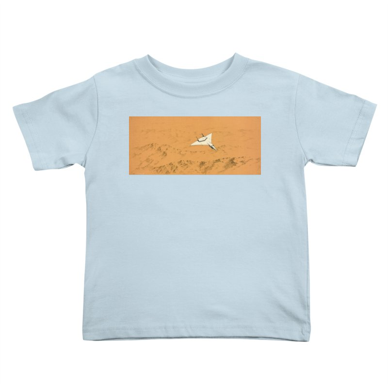 Concept Ship 7 Kids Toddler T-Shirt by Colin Cantwell ll