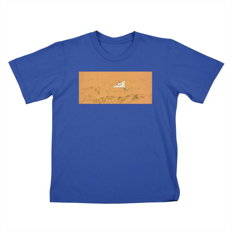 Concept Ship 7 Kids T-Shirt by Colin Cantwell ll