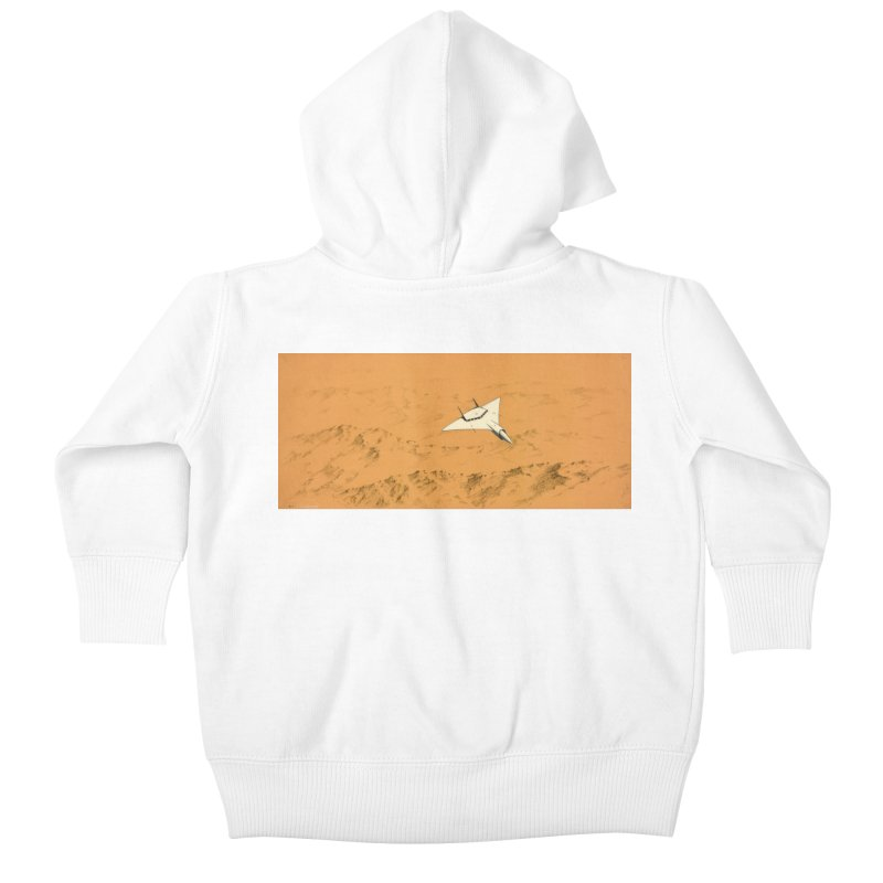 Concept Ship 7 Kids Baby Zip-Up Hoody by Colin Cantwell ll