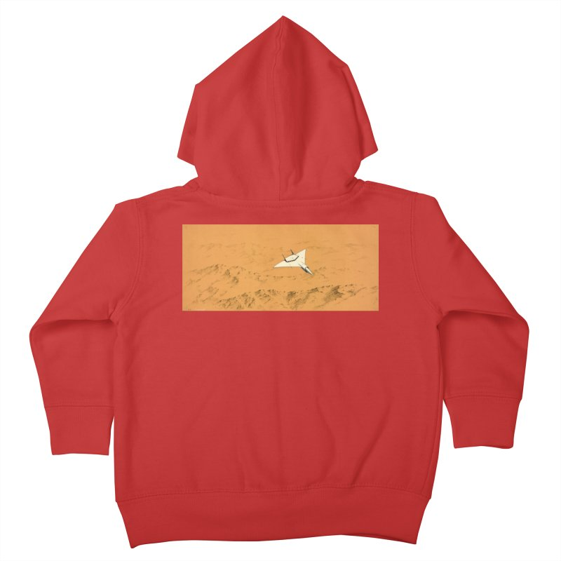Concept Ship 7 Kids Toddler Zip-Up Hoody by Colin Cantwell ll