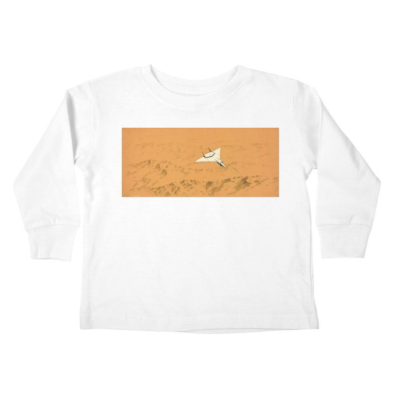 Concept Ship 7 Kids Toddler Longsleeve T-Shirt by Colin Cantwell ll