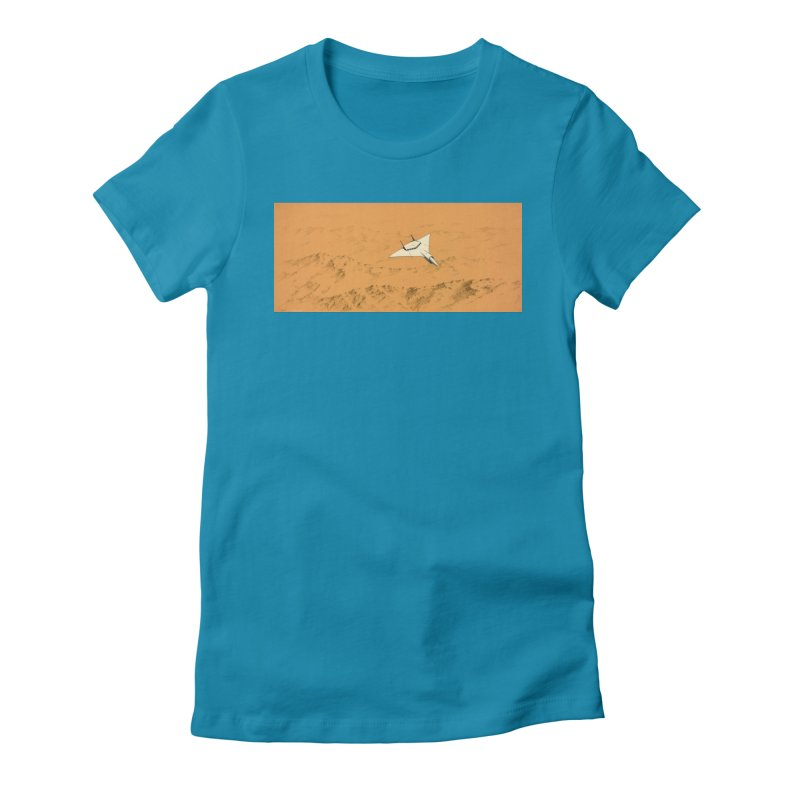 Concept Ship 7 Women's T-Shirt by Colin Cantwell ll