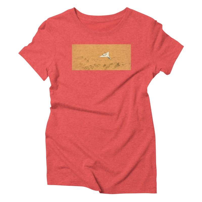 Concept Ship 7 Women's Triblend T-Shirt by Colin Cantwell ll